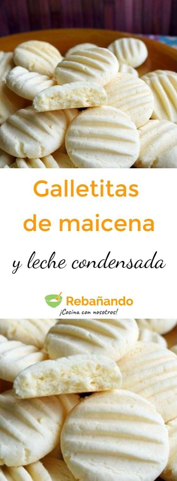 Deliciosas GALLETITAS DE MAICENA y LECHE CONDENSADA ¡Como las que hacía mi abuela!