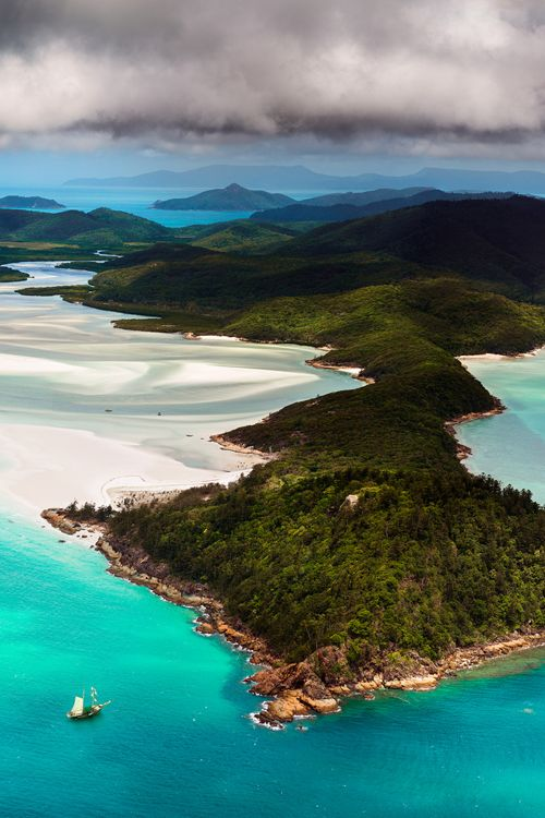 Hill Inlet, Whitsunday Island, Queensland, Australia
