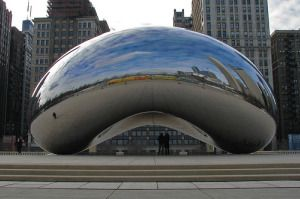 Cloud Gate in Chicago, I want to go here someday