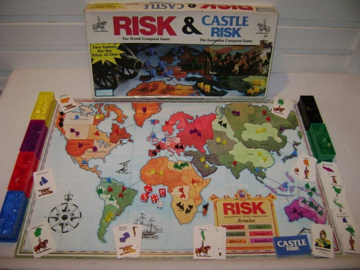 Risk + Castle Risk Gaming Pinterest