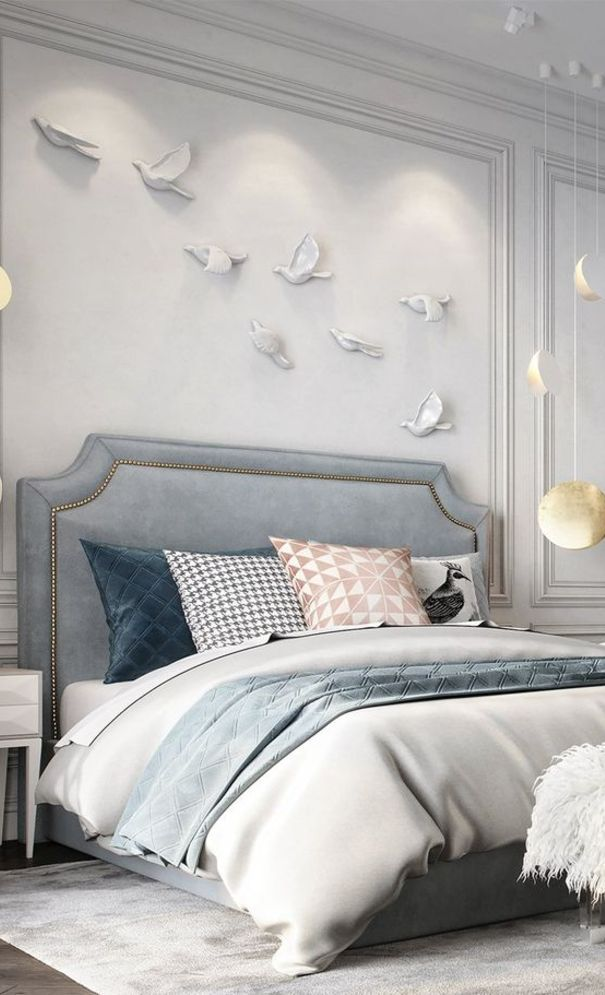 57 New Trend And Modern Bedroom Design Ideas For 2020 Part 56 Modern Luxury Bedroom Luxurious Bedrooms Grey Bedroom Decor