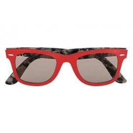 fc263237c6 Ray Bans RB2140 Original Wayfarer Pop with Red  Tortoise frame and Blue  Classic lenses