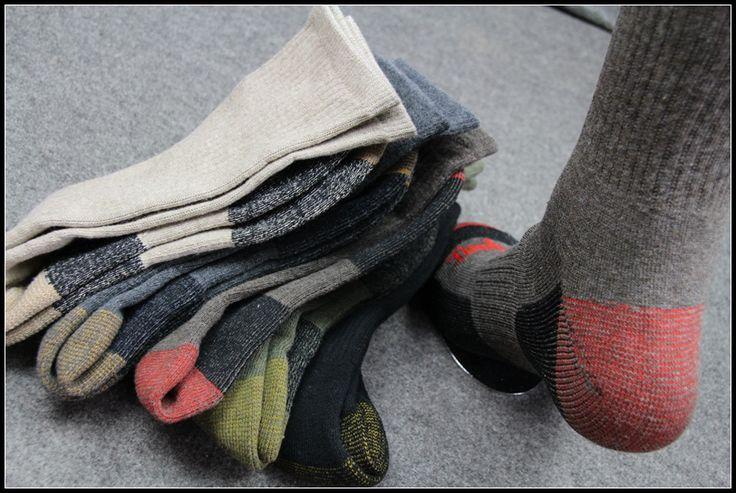 Высокие мужчины подлинного Timberl синего полотенца дно капиллярного запах пота теплые носки на открытом воздухе износ походных - Taobao