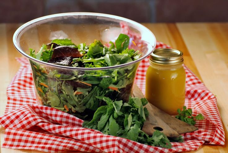 Garden Salad with House Dressing - Chef Michael Smith