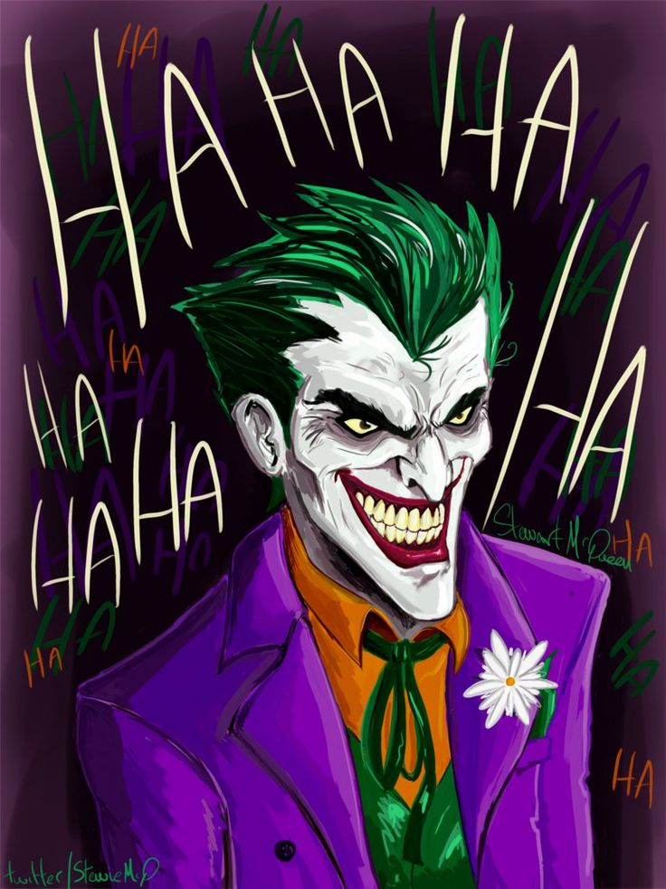 Well chuffed with this. Finally got this painting finished. #joker #thejoker #DCU #DCComics @SketchBookPro It's certainly an improvement over this Joker pic I did over 5 years ago. lostgiant....