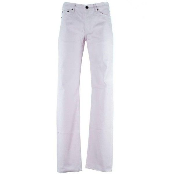Preowned Givenchy Men's Pale Pink Cotton Blend Corduroy Pants ($262) ❤ liked on Polyvore featuring men's fashion, men's clothing, men's pants, men's casual pants, pants, pink, mens corduroy pants, mens pink pants and mens pants