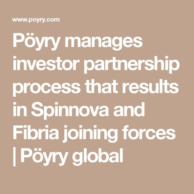 Pöyry manages investor partnership process that results in Spinnova and Fibria joining forces | Pöyry global
