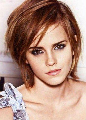 Cabelo curto com franja - Emma  Watson