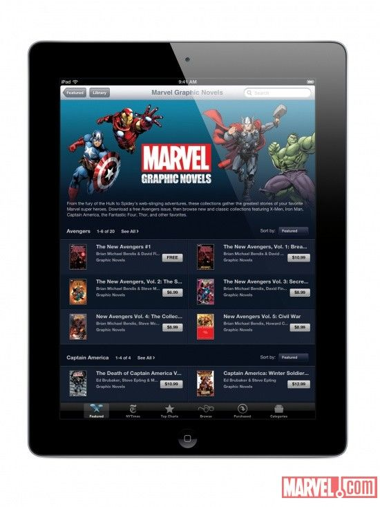 Apple, iPhone and iPad News   ModMyi - Marvel Releases Over 80 Comics to iBook Store, Promises More...