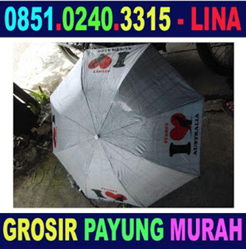 Grosir Payung Promosi Murah Bau-Bau - 0851.0240.3315