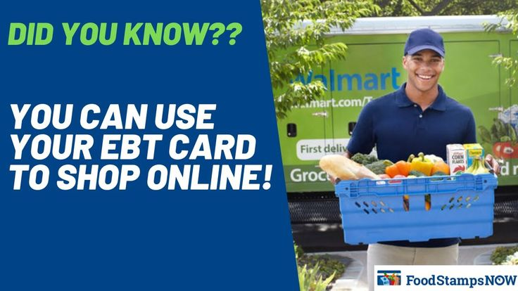 Use your EBT Card to Shop Online in 2020 Ebt, Cards, Online