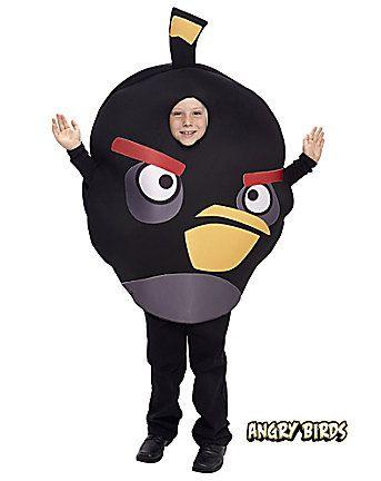 Fantasia de Angry Birds para menino.