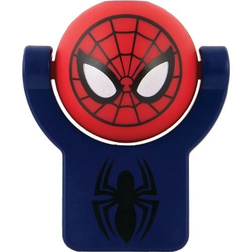 DISNEY MARVEL 13341 Marvel(R) Superhero Projectable Night-Light (Marvel(R) Spider-Man(R))
