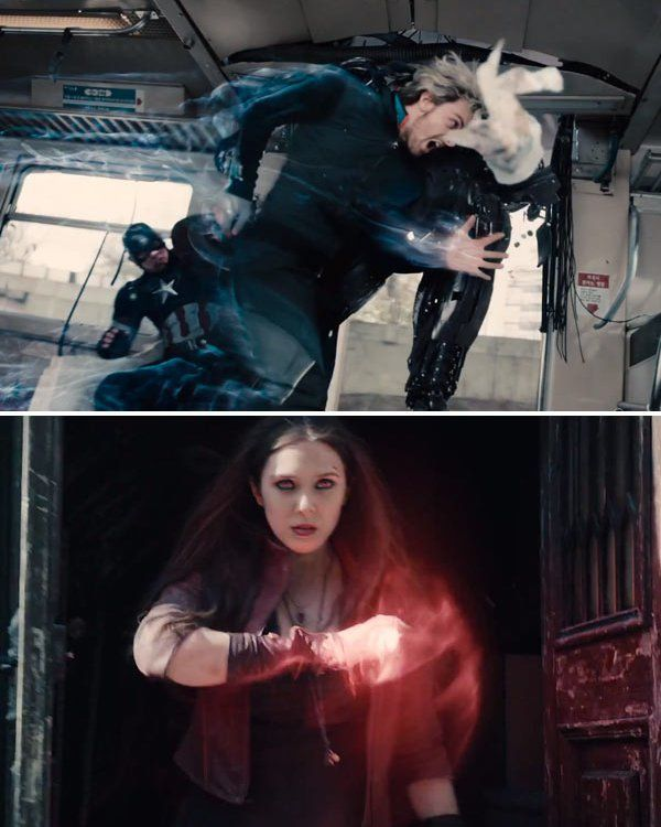 'Avengers: Age Of Ultron': First Look At Quicksilver ... Ultimate Quicksilver And Scarlet Witch Relationship