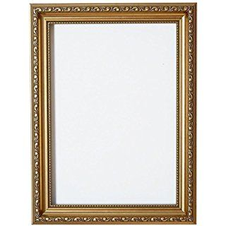 "Gold - 36"" x 24"" Ready to hang Ornate Shabby Chic Picture/Photo/Poster frame with High Clarity Styrene Shatterproof Perspex Sheet & MDF backing board"