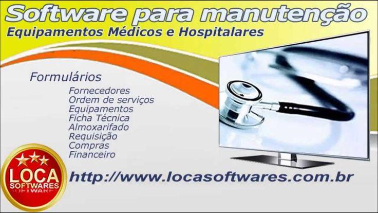 software assistência técnica de equipamentos médicos hspitalares
