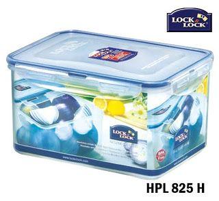 Lock and Lock Food Storage HPL 825H:  Size 232 x 165 x 125 mm 3.1 L