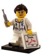 Nurse - Minifigures Series 1