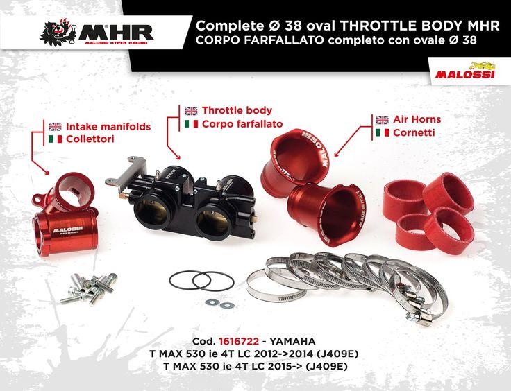 Più potenza al tuo #Yamaha #TMax con il nuovo CORPO FARFALLATO MHR #Malossi! Scoprilo sul Malossi Store ➠ http://www.malossistore.it/corpo-farfallato-completo-con-ovale-38-1616722-P  More power to your #TMax #Yamaha with the new complete THROTTLE BODY MHR #Malossi! Find out on the Malossi Store ➠ http://www.malossistore.eu/en/products/Complete-Ø-38-oval-THROTTLE-BODY-MHR_1616722
