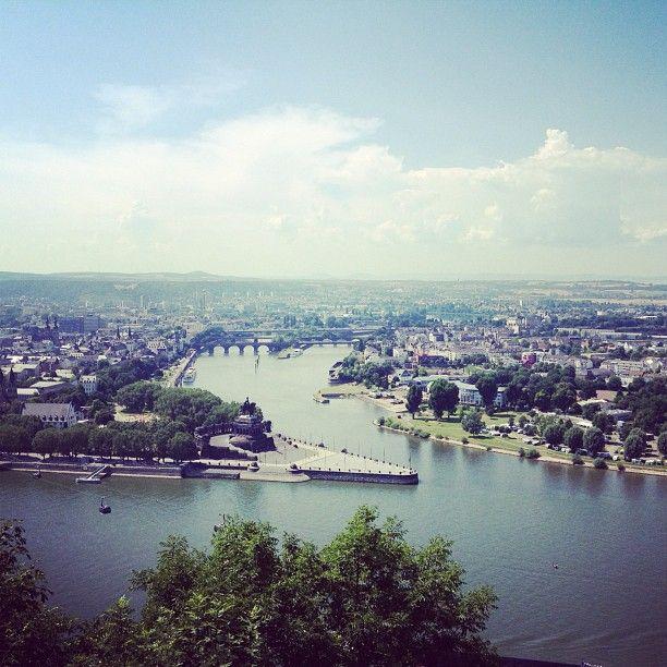 Deutsches Eck - Koblenz- Germany