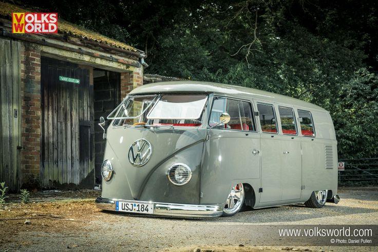 1959 VW Bus 11-Window Split Screen Van #VW #aircooled
