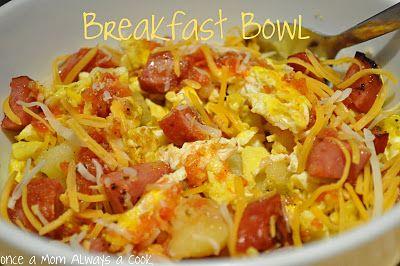 Breakfast bowl!