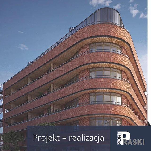 Projekt = realizacja. Sierakowskiego 5 – wizualizacja APA Wojciechowski. #portpraski #apartamenty #mieszkania #sierakowskiego5 #architektura #centrum #warszawa #apartments #flats #warsaw