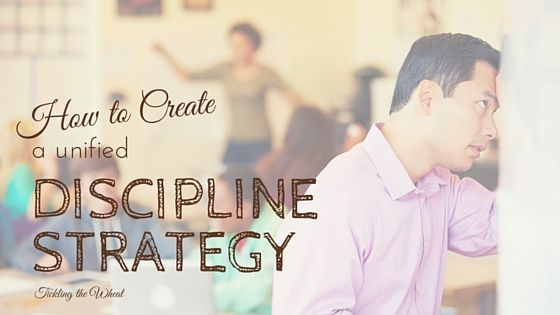 When you and your spouse have different parenting styles, creating a unified front is difficult. 5 steps to help you create a unified discipline strategy