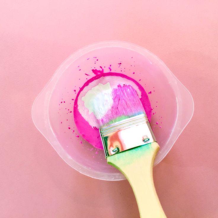 DIY Pastel colors