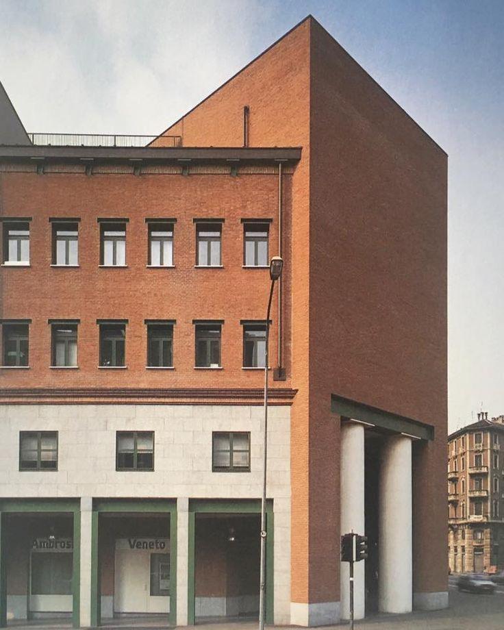 Casa Aurora, Turin, Aldo Rossi, 1984