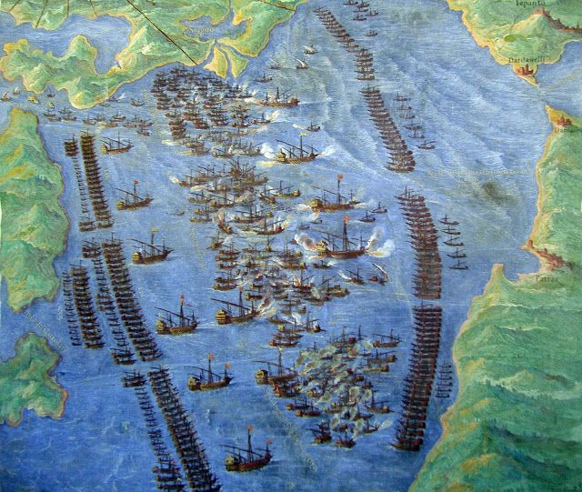 Art Collector: 57 Paintings of The Naval Battle of Lepanto, 1571. Christian…