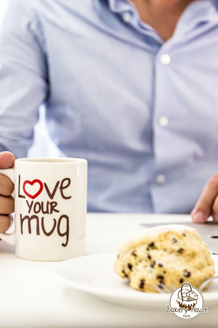 #scones #coffee #mug #love #bakeryhouseroma