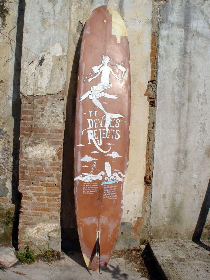 Surfboard/longboard, Paint