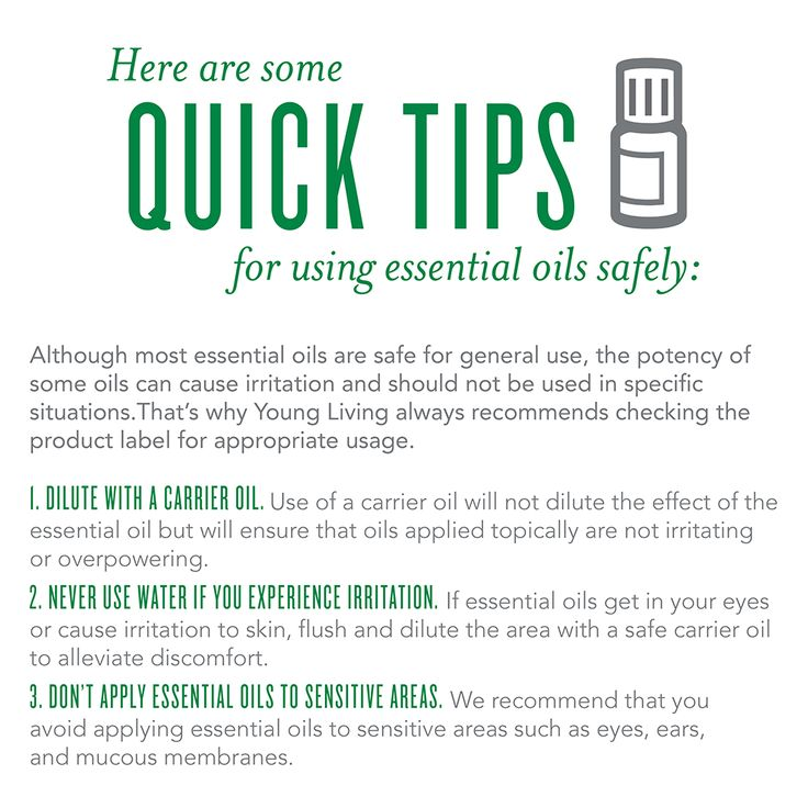 Essential Oils and Safety!