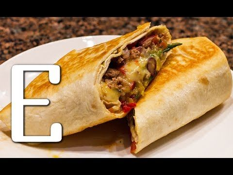 Мексиканское Буррито — рецепт Едим ТВ - YouTube