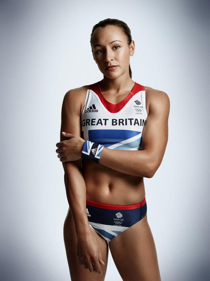Nude athletes female track