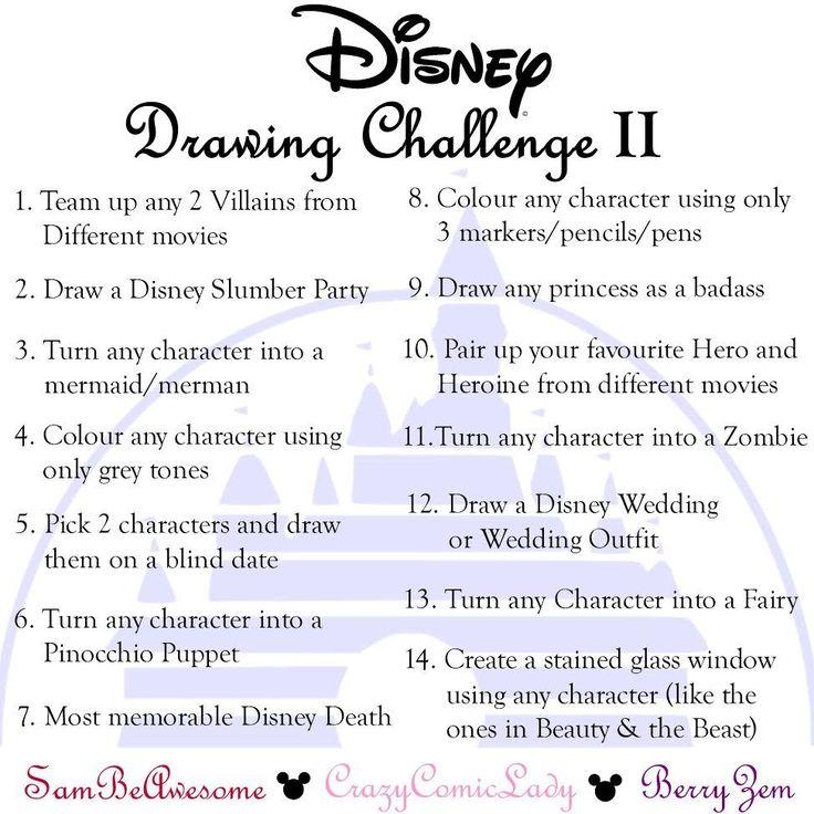 #DisneyDrawingChallenge2017   Sam Segal on Patreon
