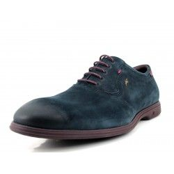 Zapato Fluchos azul Oxford