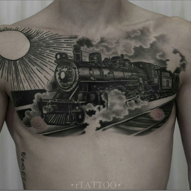 Roman Migoura @romantattooart #tattwho #tattoo #tattoos #tattooartist #tattooartists #tattooist  #tattooer #artist #tattoolife #instaart #instatattoo #tattoodesign #tattooed #ink #inked #tattooaddict #tattooart #art #photooftheday #instagood #instastyle #instabeauty #bodyart #tattooidea #tattoooftheday #moscow #blackwork #train #locomotive #tatted