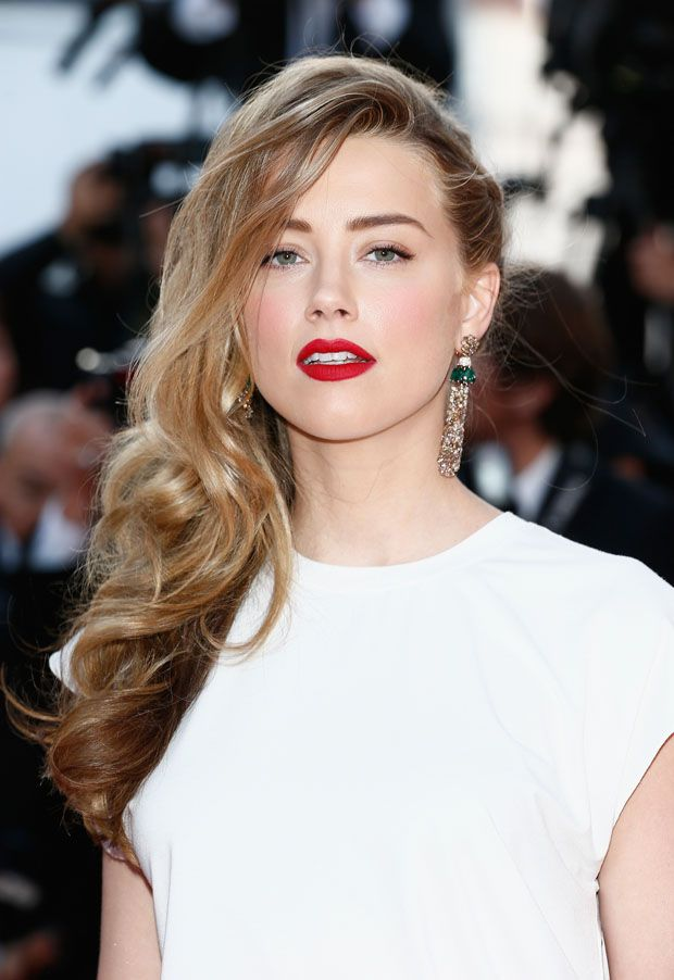 Amber Heard in de Grisogono jewels, Cannes 2014