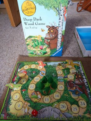Confessions of a Single Parent Pessimist: Toy Review: Ravensburger Gruffalo Game