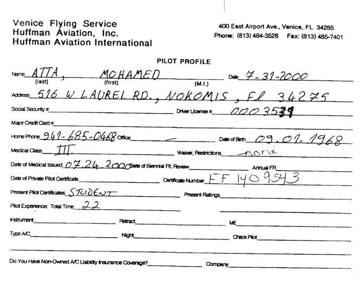 Mohamed Atta  9/11 hijacker
