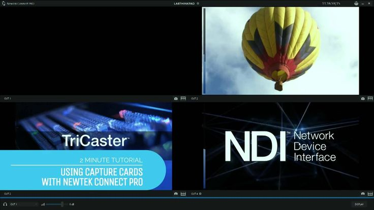 2 Minute Tutorial: How to use a capture card in your IP video workflow