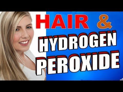 How to Safely Use Hydrogen Peroxide to Bleach Hair How to safely bleach your hair with hydrogen peroxide The first time many people dye their hair they use hydrogen peroxide. Perhaps as a teenager or ignorant college student they just walk into a supermarket, and buy the liquid, and go home and apply it. The result is usually dry blonde hair, which starts breaking in the process. Using hydrogen peroxide to bleach hair is affordable and can give great results but only if used well.