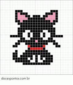 cat hama bead - Google Search