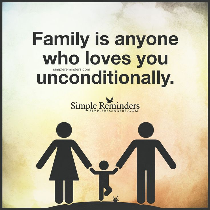 Family Is By Unknown Author
