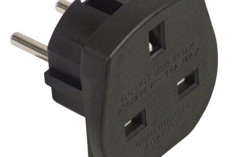 Adaptateur prise anglaise en prise francaise: Black 10 A Travel Adaptor (Holland and France) – Cet article Adaptateur prise anglaise en…