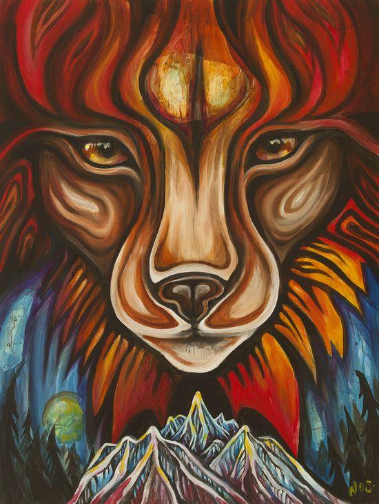 'Lynx' by Vanessa Stark Art Print