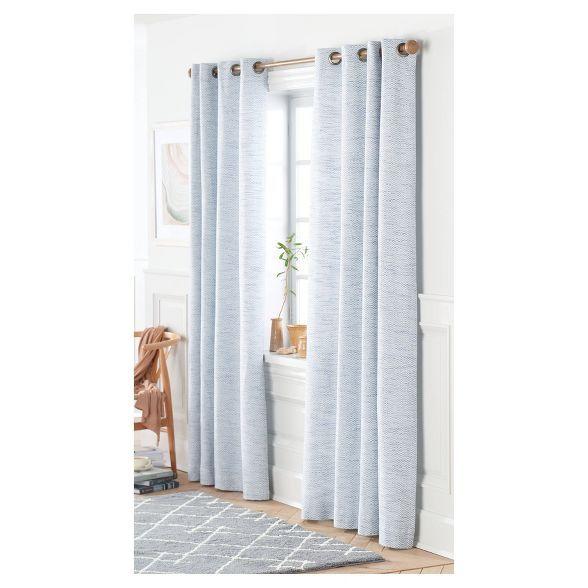 Spacedye Curtain Panel Threshold In 2020 Curtains Stylish
