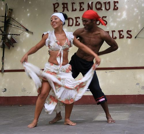 Cuban dancers in Trinidad. by jinolke, via Flickr